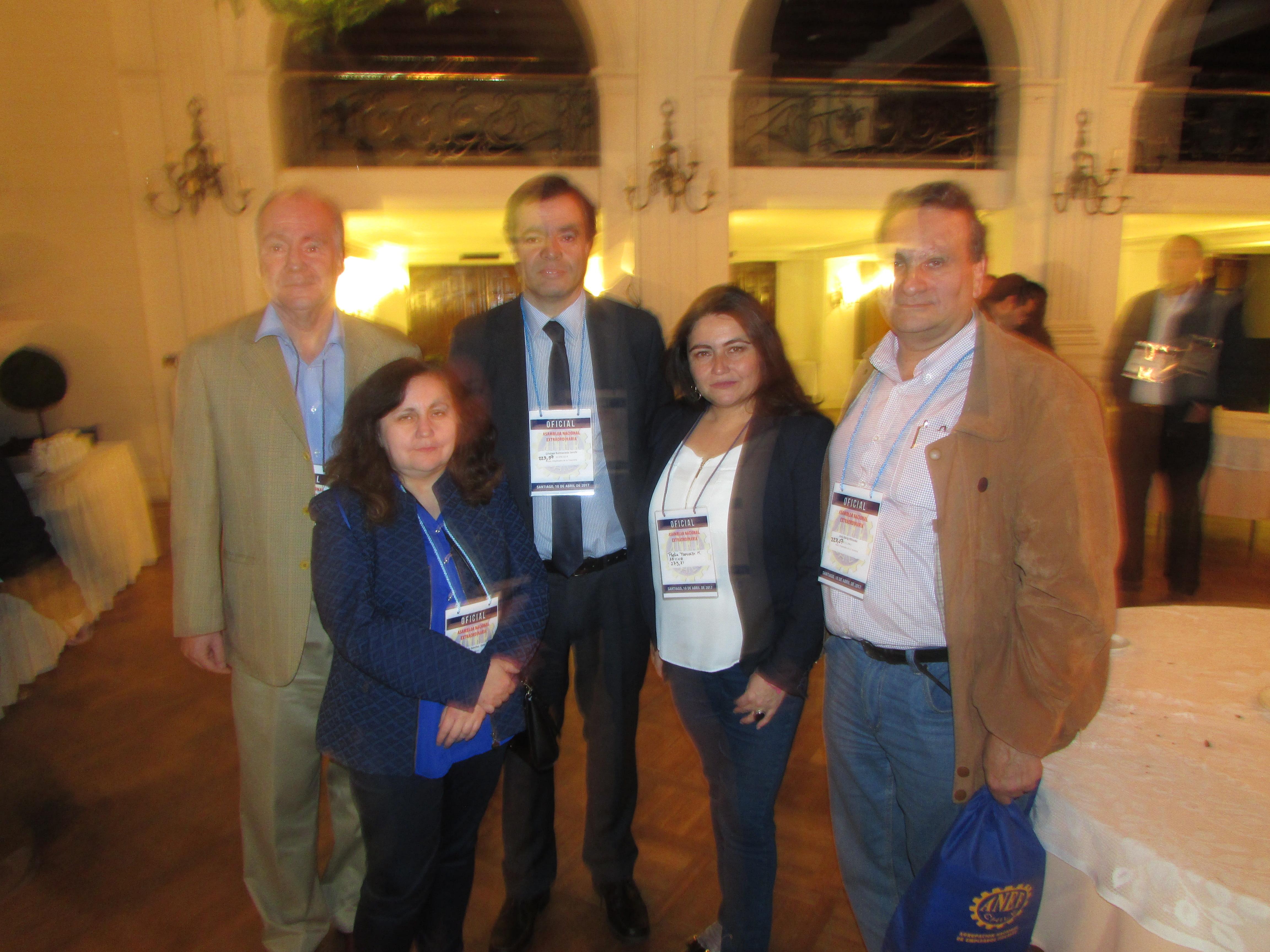 AET en Asamblea Nacional Extraordinaria ANEF - 10 Abril 2017