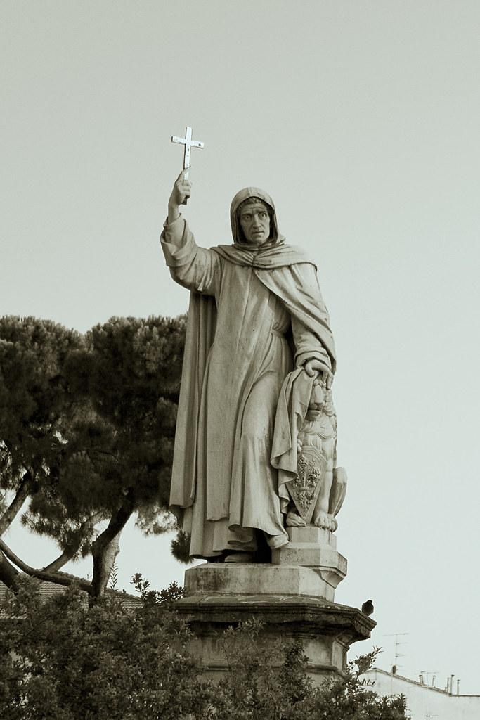 Statue of Savonarola