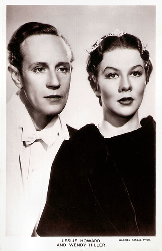 Wendy Hiller and Leslie Howard in Pygmalion