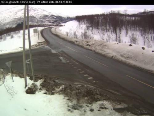 Norwegian road webcams - 14 April 2014