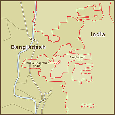 A map of the dahala khagrabari enclave inside a bangladesh flickr a map of the dahala khagrabari enclave inside a bangladesh enclave which sits inside of india gumiabroncs Gallery