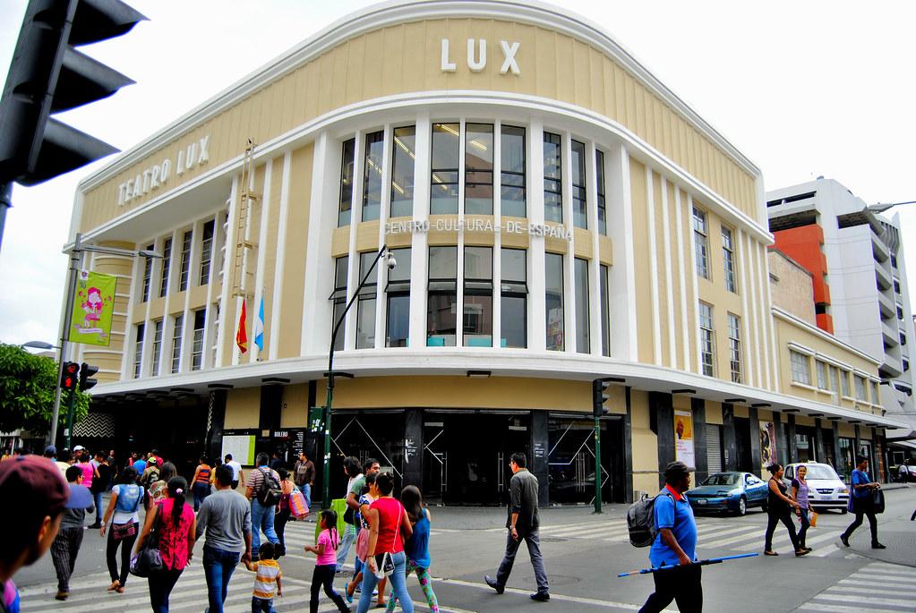 teatro lux inaugurado en 1936 anteriormente cine lux