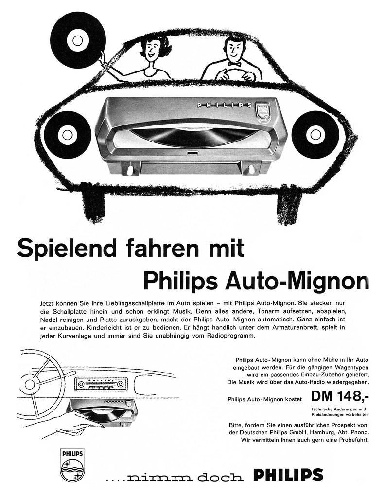 Philips (1960) Auto-Mignon | Spielend fahren mit Philips Aut… | Flickr