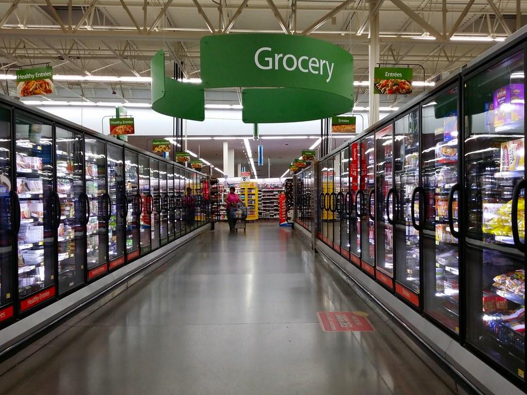 Frozen Food Area At The Walmart In Laurel Maryland Flickr