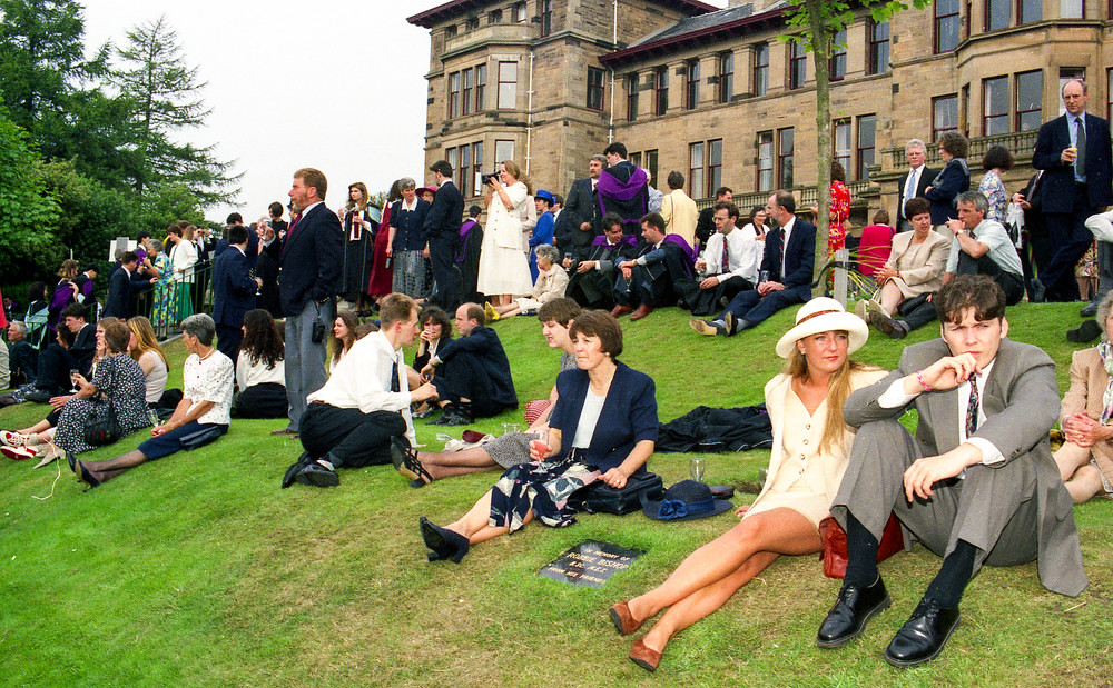 Graduation Ceremony Reception: Graduation Ceremony Reception At Craiglockhart, June 1994
