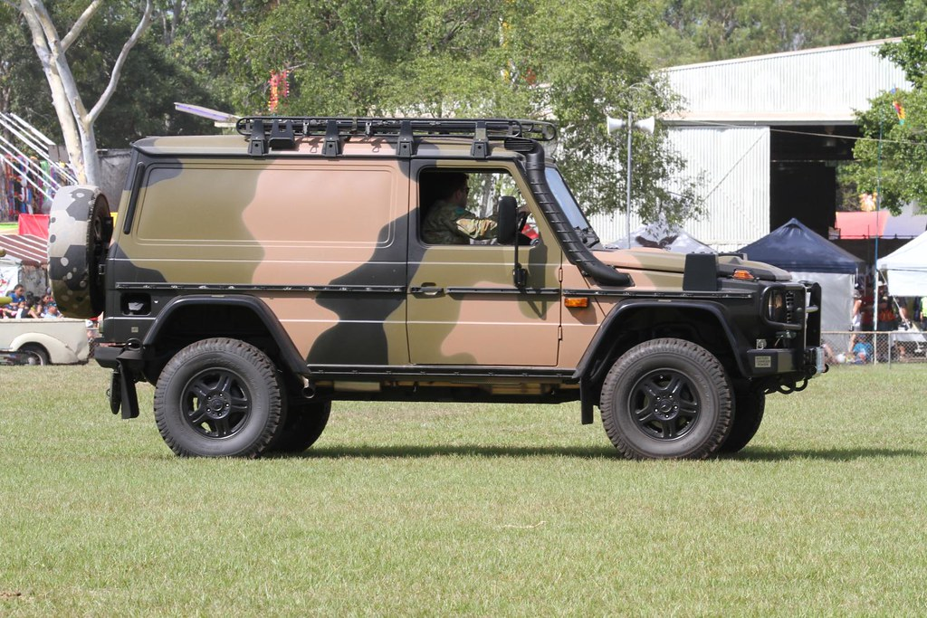 New Mercedes For The Australian Army