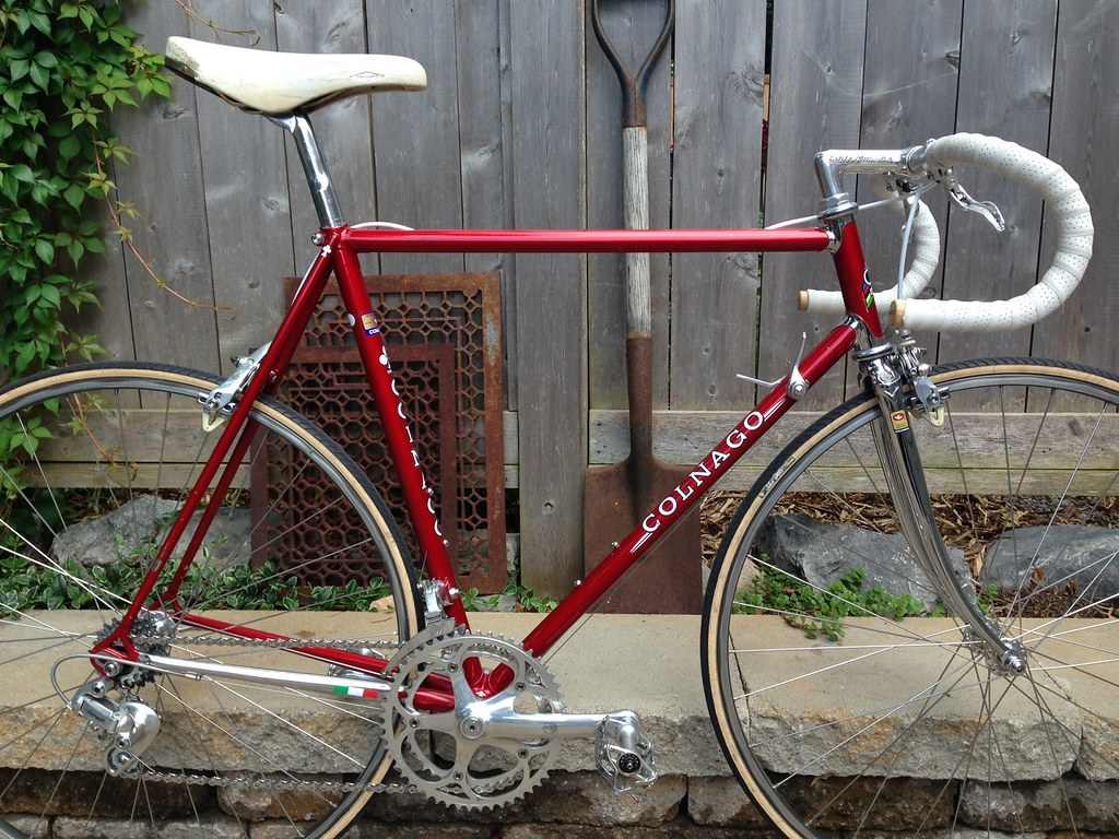 Removing paint from chromed Colnago frame? - Bike Forums
