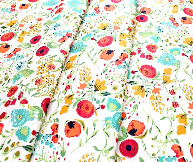 Art Gallery Fabrics Abloom Fusion Budquette Abloom