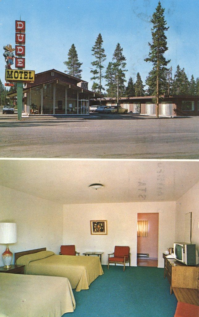 Dude Motel - West Yellowstone, Montana