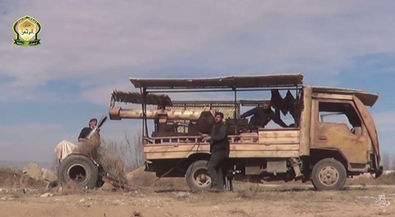 Syria-truck-cannon-faylaq-al-rahman-2016-ytb-1