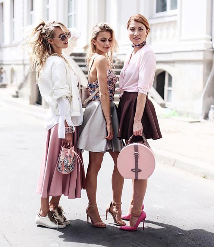 spring pink outfits inspiration accessories fashion trend style7