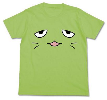 ぴにゃこら太 フェイス Tシャツ緑