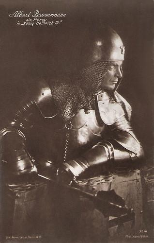 Albert Bassermann in König Heinrich IV