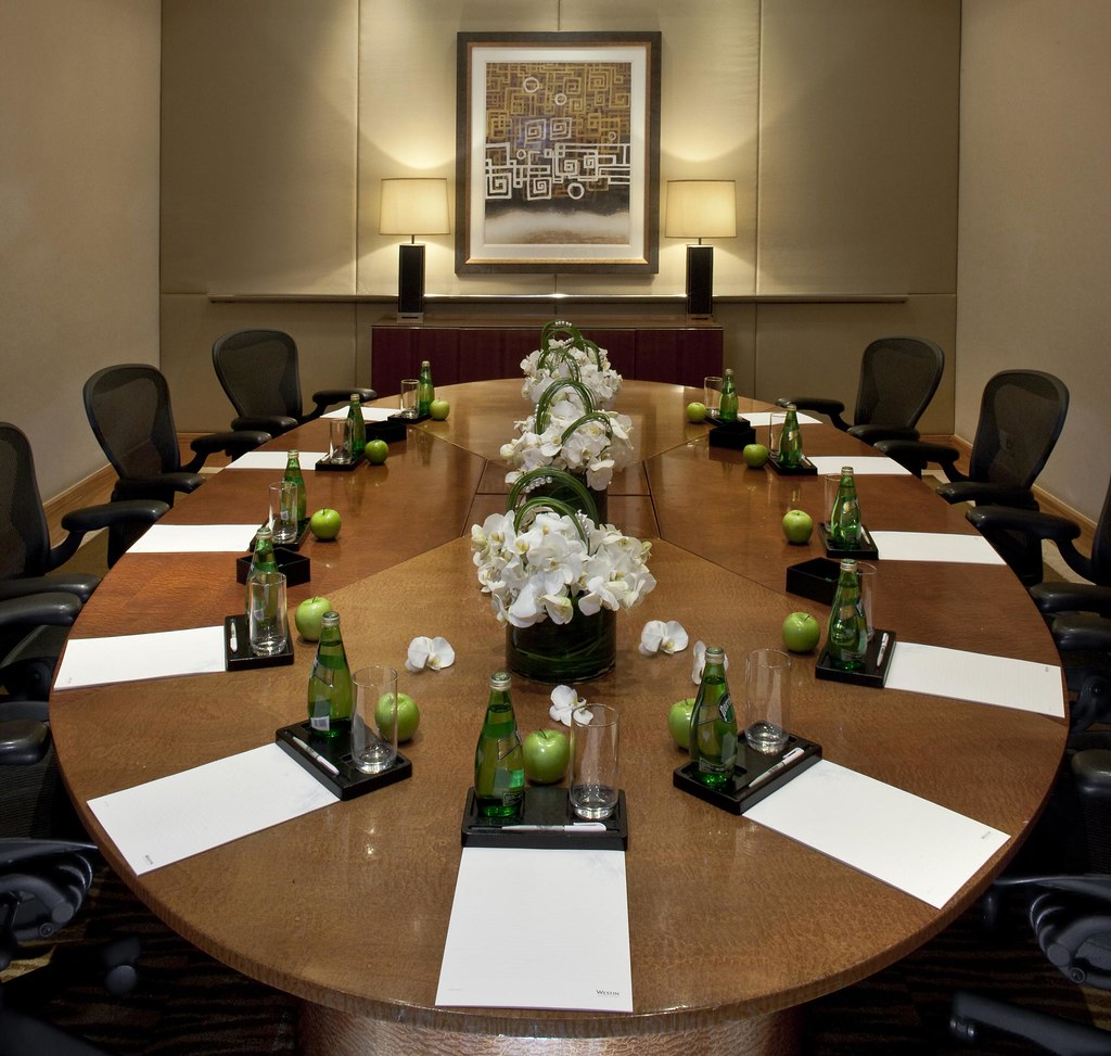 The westin bund center shanghai jade conference room bo for Conference room setup ideas