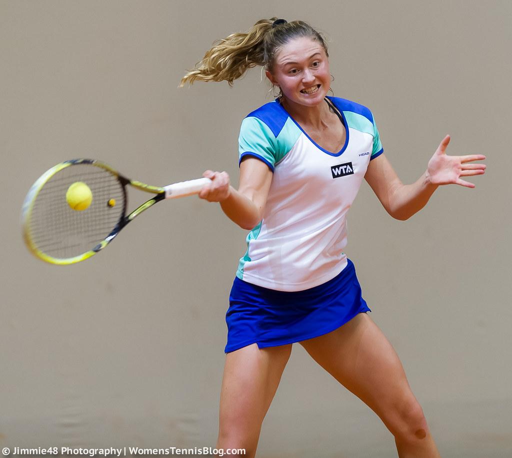 Aliaksandra Sasnovich Porsche Tennis Grand Prix 2014