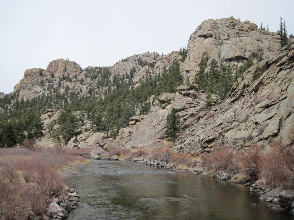 Picture From 11 Mile Canyon Colorado This Is A Picture