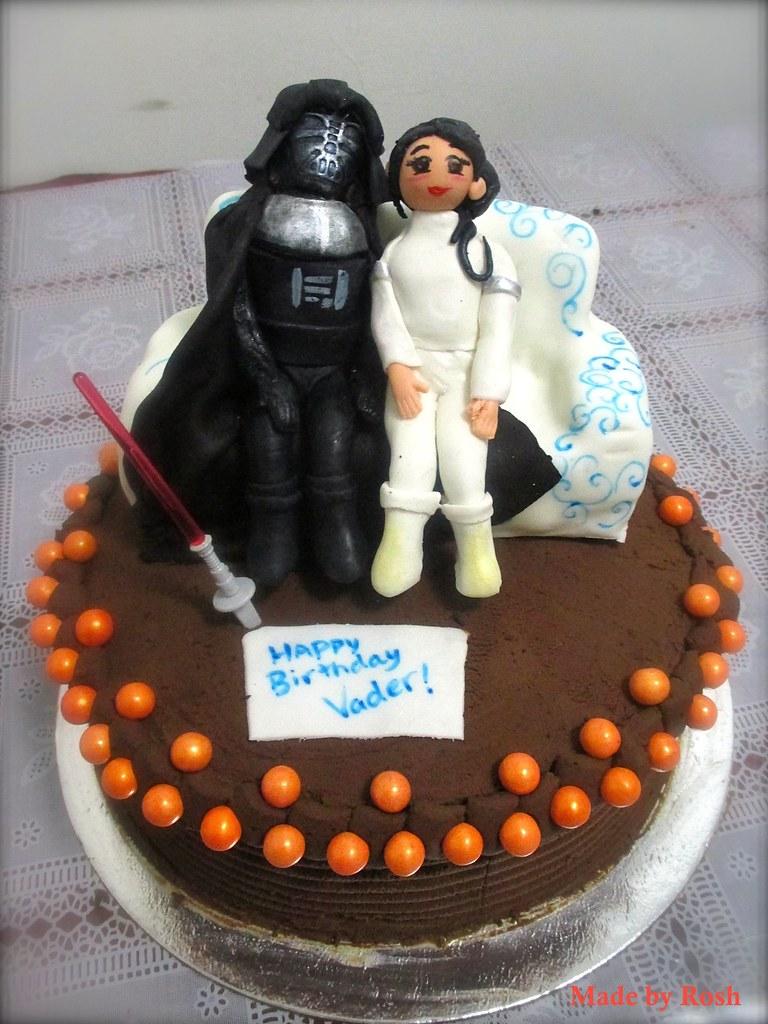 Darth Vader Padme Darth Vader And Padme Birthday Cake Rqaziis380