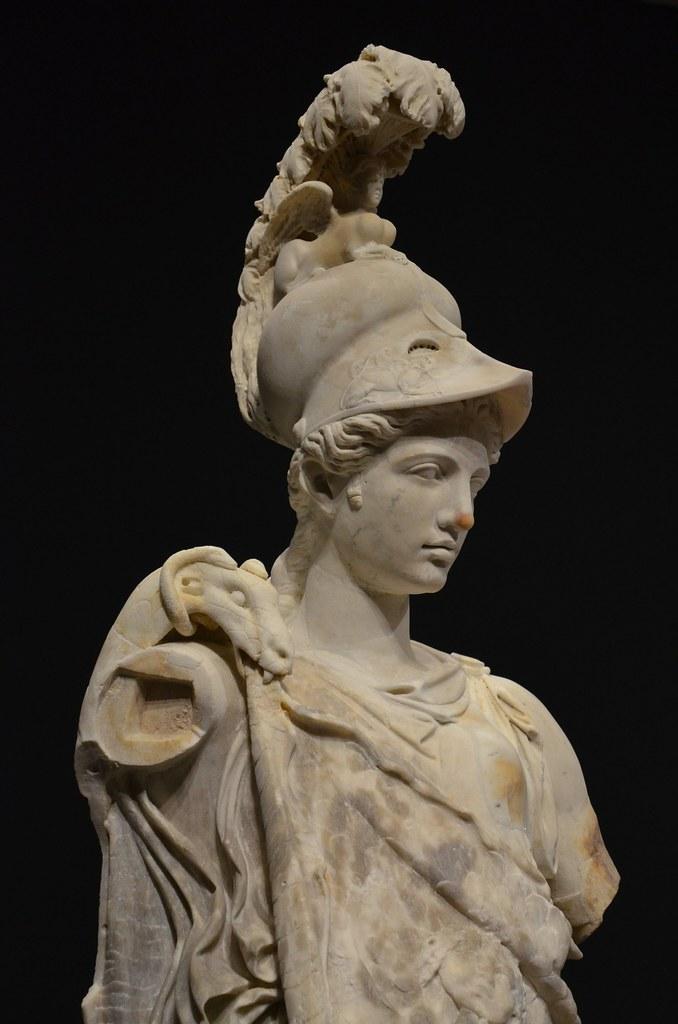 Greek Helmet by Knotproficient | Pallas Athena Costume ...  |Athenas Greek Helmet