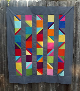 Completed Top - From an Unquiet Mind I | by Grey Cat Quilts