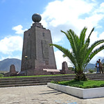 Mitad del Mundo marker, Quito, Ecuador