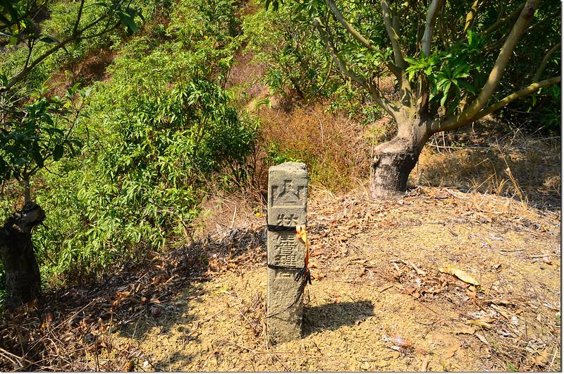 北坑仔內山林產管理局的山字水泥柱(Elev. 178 m) 1