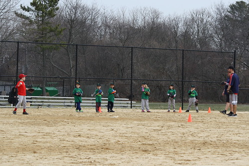 First T-Ball Practice 2017
