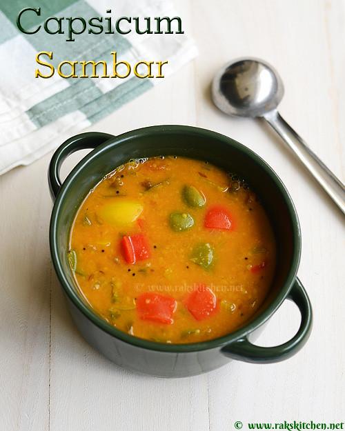 Capsicum-sambar-recipe