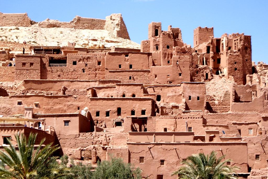 Ait Ben Habbou, impressionnant village de terre quasi millénaire au Maroc