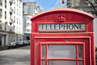 Telephone booth at Brest ! | by Amanda Hinault - Actvités Humaines