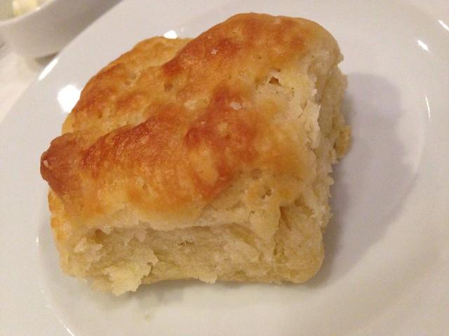Biscuit at Seafood R'evolution, Jackson MS