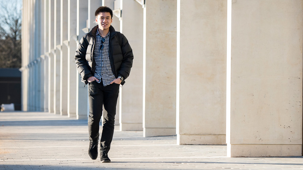 An international student at Bath