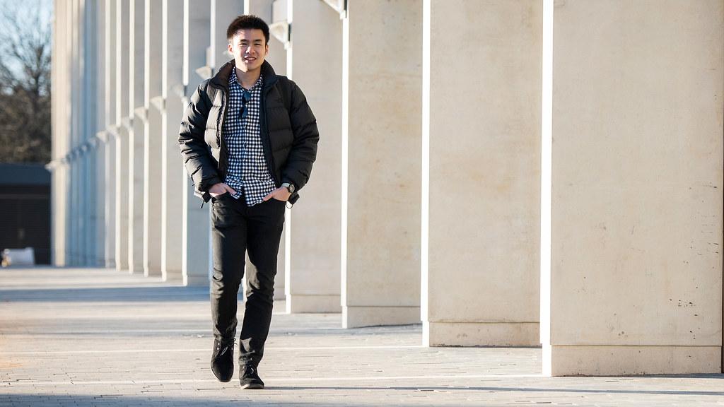 An international student at Bath