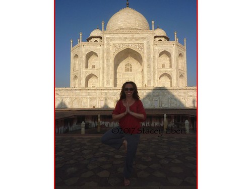 At the Taj Mahal. From  But I Never Realized I Was Learning Anything