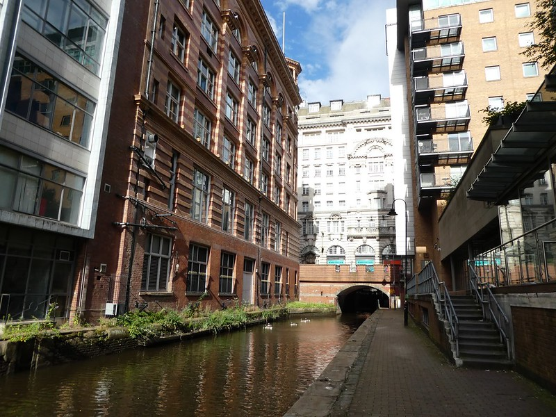 Rochdale Canal, Central Manchester