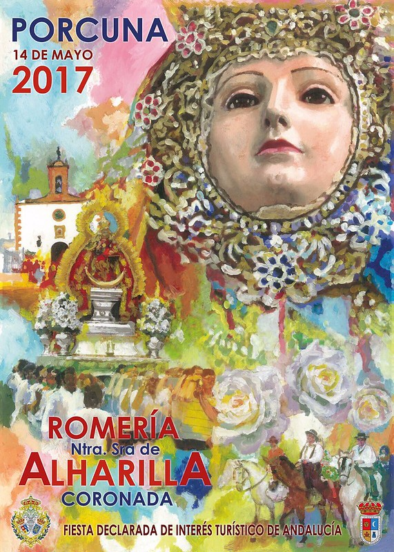 Cartel Oficial de la Romería de Alharilla 2017