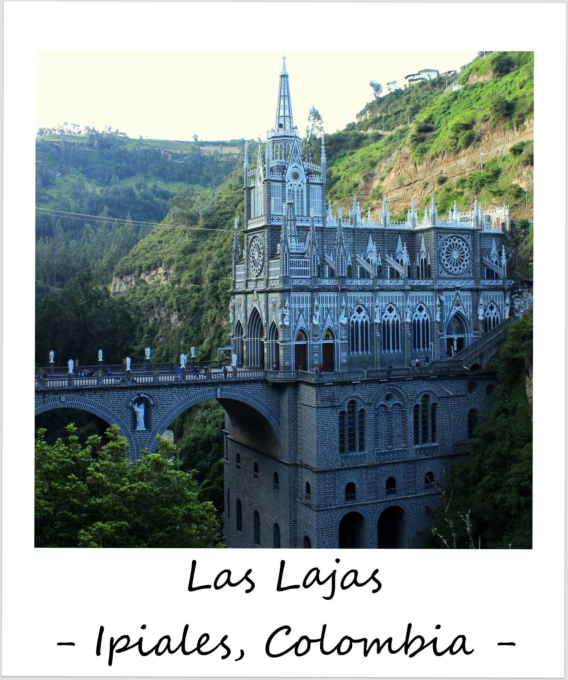 polaroid of the week colombia las lajas