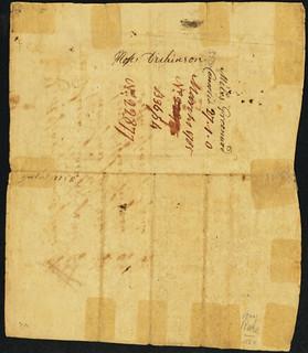Massachusetts 1775 King Phillip Bond back