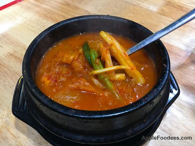 Hwa Ga Mont Kiara A La Carte Korean BBQ - Kimchi Soup