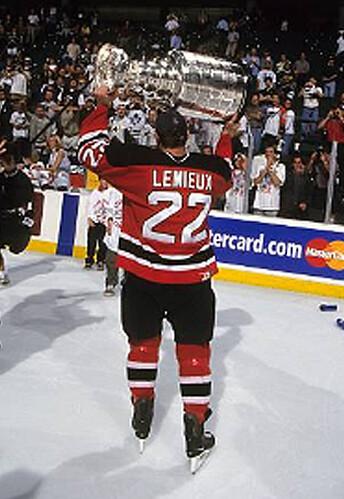 Lemieux Devils 2000