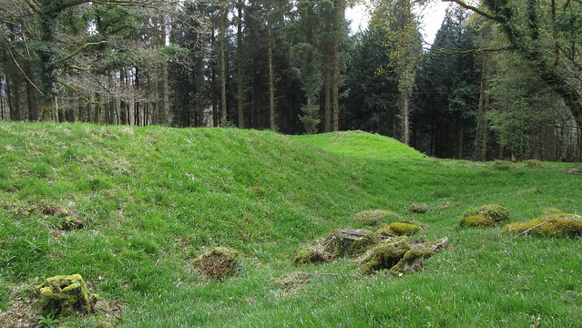 Ramparts of the old fort.
