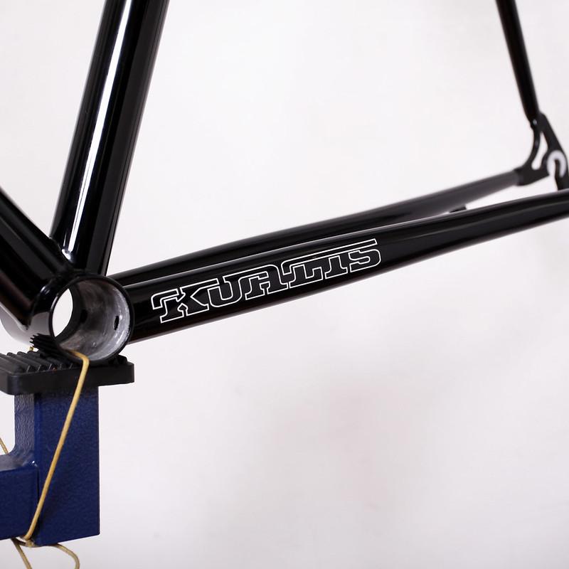 Kualiscycles Steel Frame & ENVE Carbon Fork Painted by Swamp Things