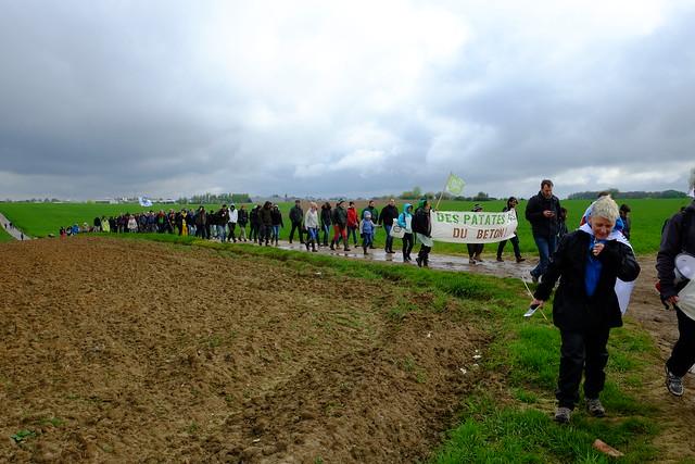 Action 17 avril pour défendre les terres agricoles menacées