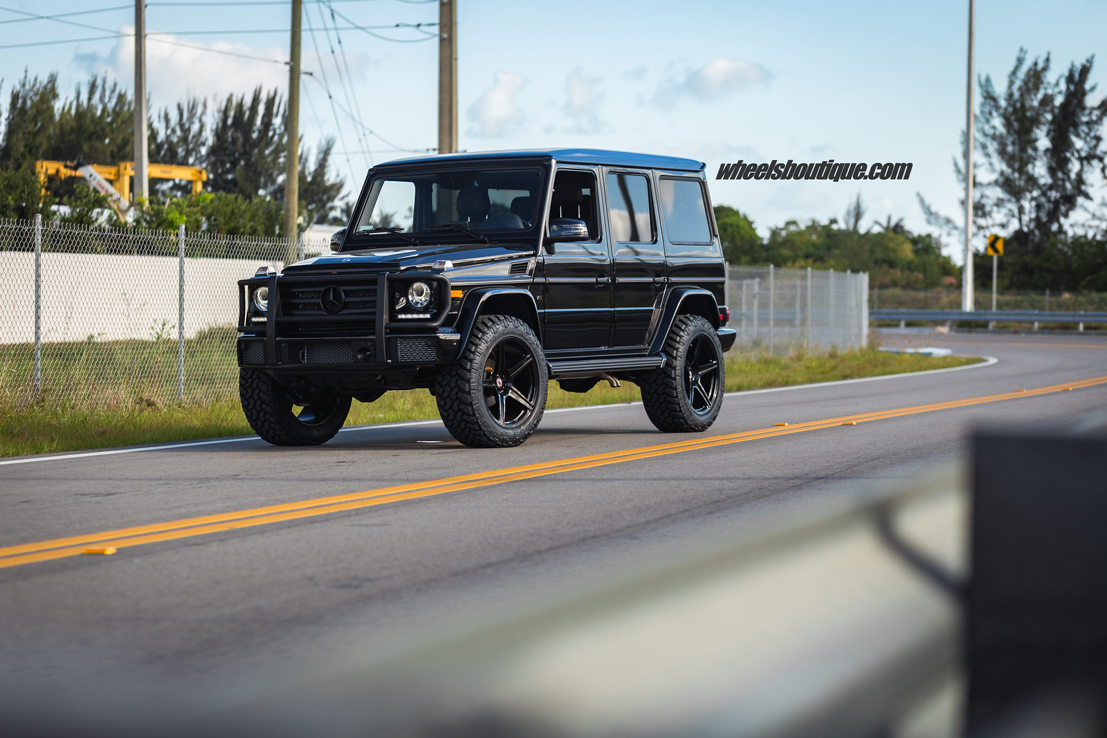 Up The Ante 5 Lift Kit On Mercedes Benz G Wagon With Hre S By Teamwb Mbworld Org Forums
