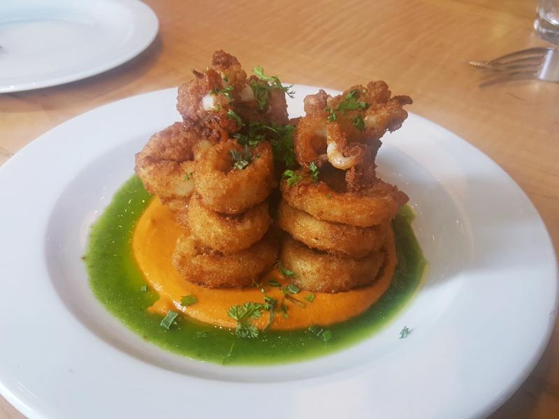 Pizzeria Libretto calamari