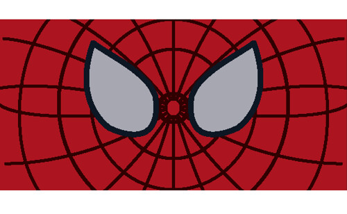 The Amazing Spiderman face decal | Give credits if use ...