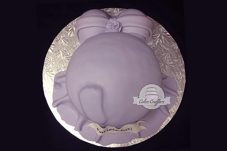 Pregnant Belly Baby Shower Cake Push Lanlan Push Pregnant Flickr