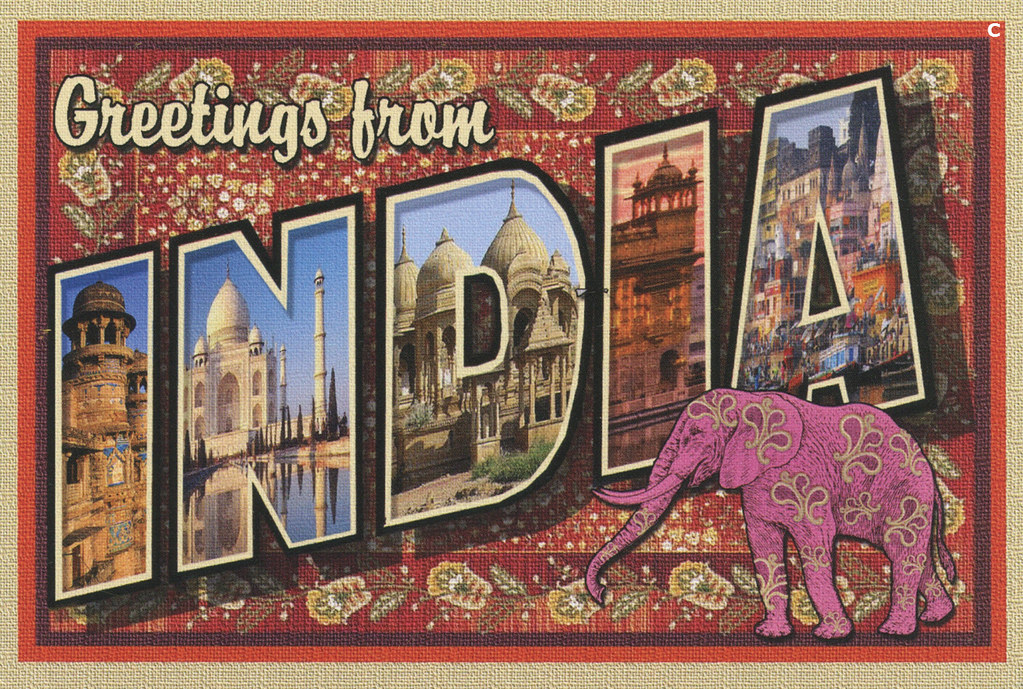 Greetings from india larry fulton postcard greetings fro flickr greetings from india larry fulton postcard by shook photos m4hsunfo