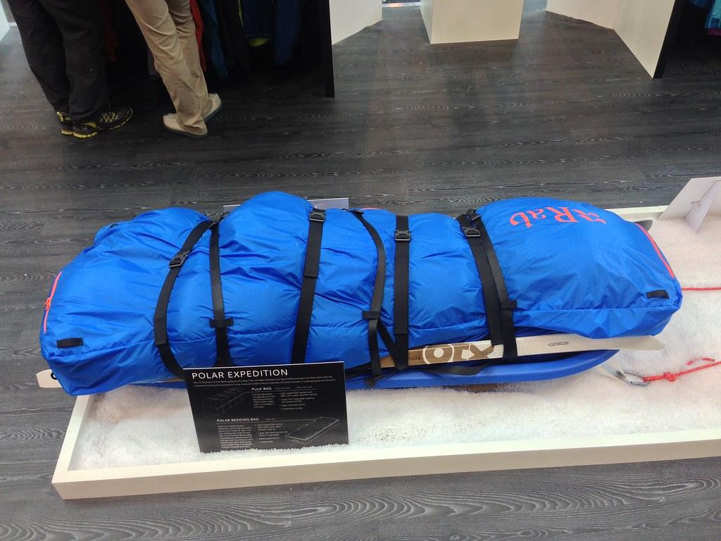 rab polar bedding bag pulk bag by hendrikmorkel - Bedding In A Bag