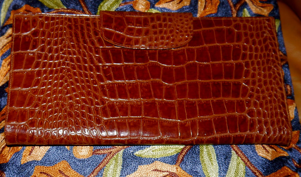 Home sweet home - | MAC located a vintage alligator bag in ...