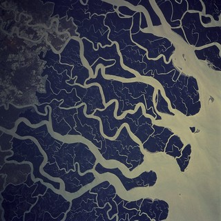 Archive: Ganges River Delta (Archive: NASA, Space Shuttle, 11/19/05) | by NASA's Marshall Space Flight Center